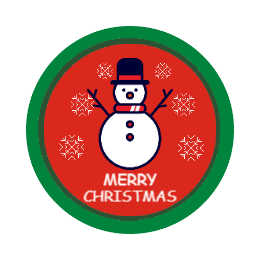 Snowman Personalized Patches