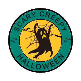 Scary Creepy Halloween Custom Patches