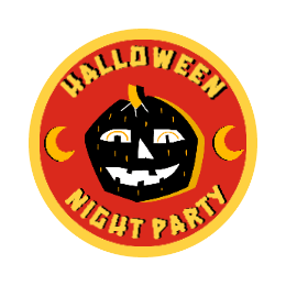 Halloween Night Party Custom Patches
