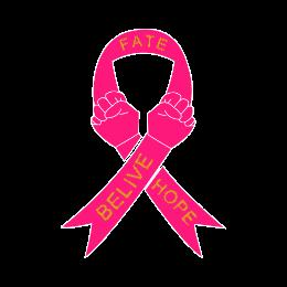 Breast Cancer Ribbon Enamel Pins