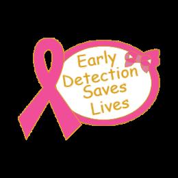Breast Cancer Awareness Ribbon Lapel Pins