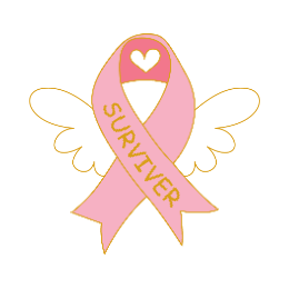 Breast Cancer Survivor Enamel Pins