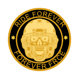 Ride Forever Motorcycle enamel pins custom
