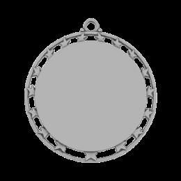 Antique Silver Round Blank Medals