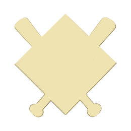 Gold Blank Trading Pins