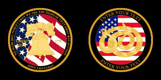 Liberty Challenge Coins
