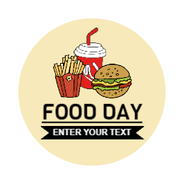 Food Day Custom Pins