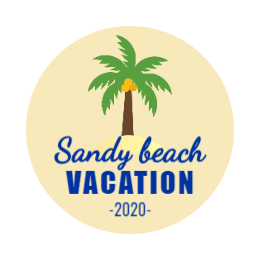 Sandy Beach Custom Pins