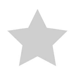 Silver Star Blank Template Lapel Pins