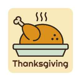 Thanksgiving Custom Pins