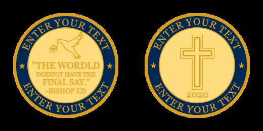 Religion Custom coins