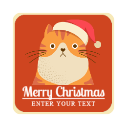 Christmas Cat Custom Pins