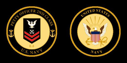 UNITED STATES Navy Challenge Coins