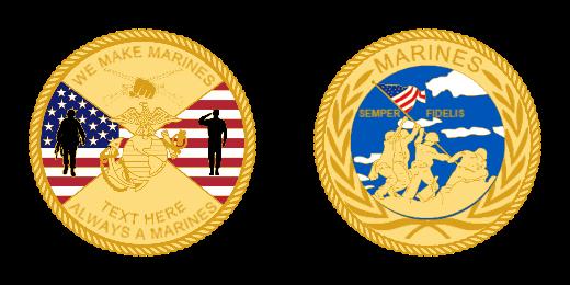 Marines Custom Coins