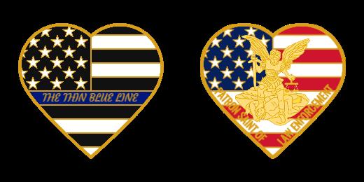 Law Enforcement Custom Coin