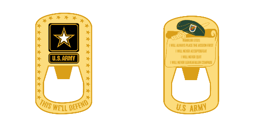 US Army Custom Coin