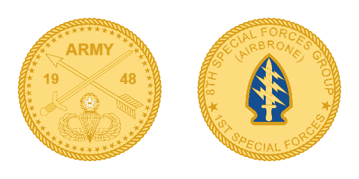 Special Forces Custom Coins