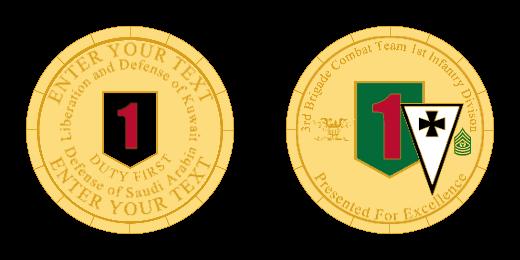 Defense Custom Coins
