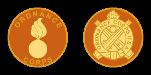 Ordnance CORPS Custom Challenge Coins