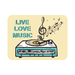 Love Music Cutom Pins