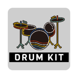 Drum Kit Custom Pin