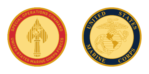 U.S Marine Corps Forces Custom Coins