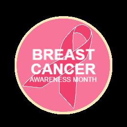 Breast Cancer Custom Pin