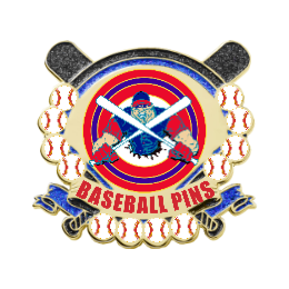 Strong Baseball Team BaseballPins