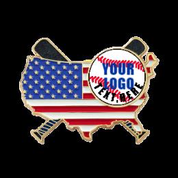 America USA Trading Pins