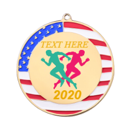 USA Runner Custom Medals 2020