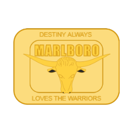 Marlboro Cast Belt Buckles