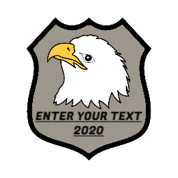 Police Eagle Custom Patch