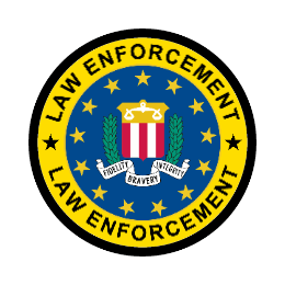 Law Enforcement Logo Custom Patches