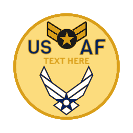 USA Air Force Custom Lapel Pins