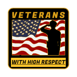 Veterans With High Respect Custom Pins