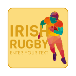 Rugby Sports Lapel Pins
