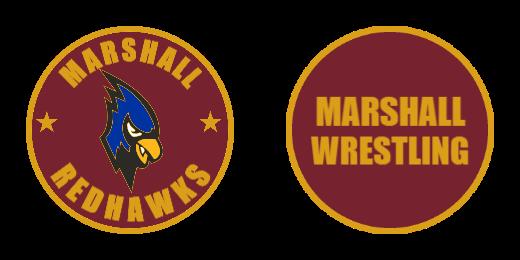 Marshall Redhawks Custom Challenge Coins