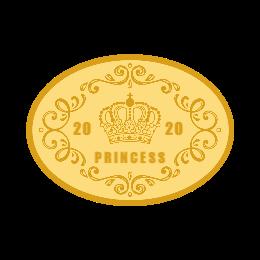 princess personalized belt buckles