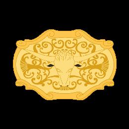 Simple Bull Custom Belt Buckles