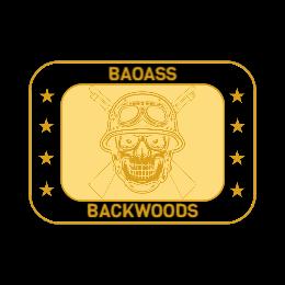 Backwoods Army Custom Belt Buckles