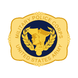 Military Police Corps Belt Buckles