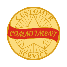 Custom Service Commitment Pins