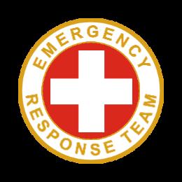 Emergency Response Team Custom Pins