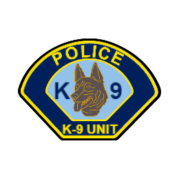 K9 Police Custom Patches