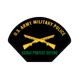 Army Police Custom Patches