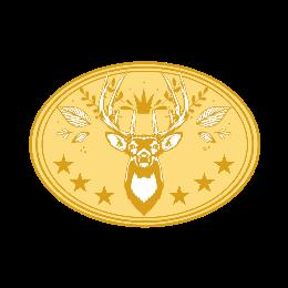 Deer Custom Belt Buckles