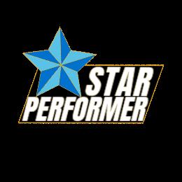 Star Performance Lapel Pins