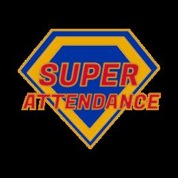 Custom Super Attendance Pins