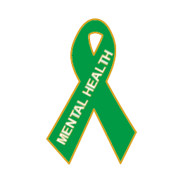 Mental Health Awareness Lapel Pins