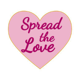 Spread The Love Cutsom Pins